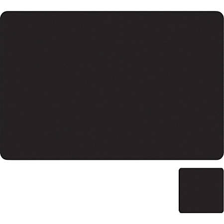 "Elementals™ Conference Pad, 12"" x 18"", Black"