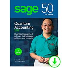 Sage 50 Quantum Accounting 2019 US