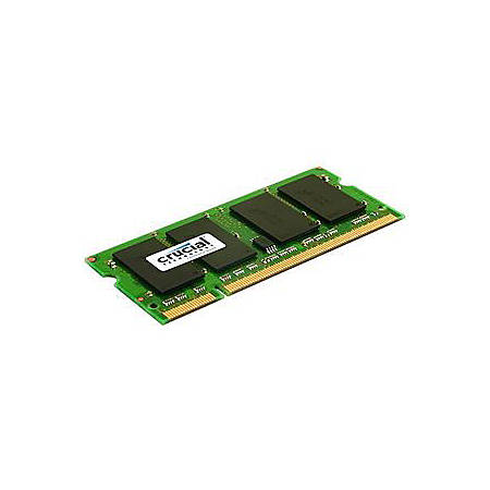 Crucial 1GB DDR2 (PC2-5300) 200 Pin SODIMM