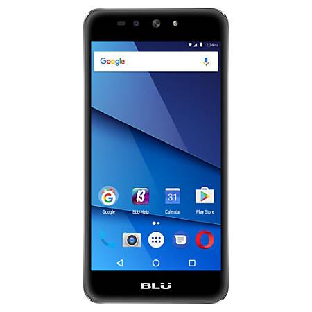 BLU Grand XL LTE G0030WW Cell Phone, Black, PBN201321