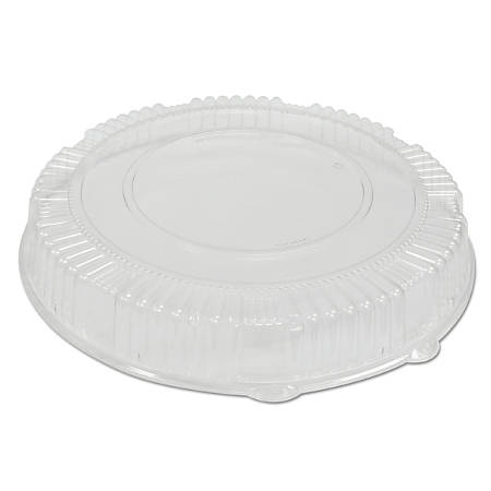 """WNA CaterLine® Dome Lids, 2 3/4"""" x 16"""", Clear, Pack Of 25 Lids"""