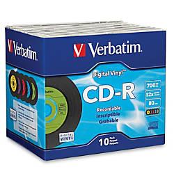 Verbatim CD R 80min 52X with