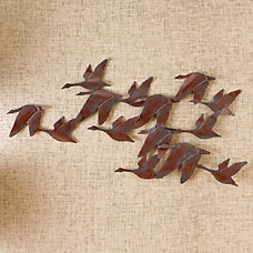SEI Metal Wall Art Flock Of