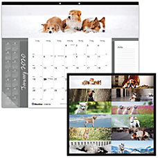 Rediform Furry Collection Dogs Monthly Desk