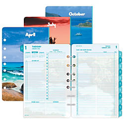 Day Timer Coastlines Daily Planner Refill