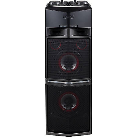 LG OJ98 Mini Hi-Fi System - 1800 W RMS - Black