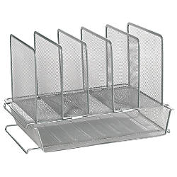 OfficeMax Brand Mesh Stacking Desk Sorter