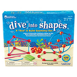 Learning Resources Dive Shapes SeaBuild Geometry