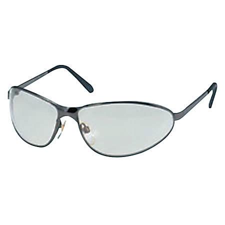 Tomcat Eyewear, Silver Mirror Lens, Anti-Scratch/HC, Gray/Gunmetal Frame, Metal