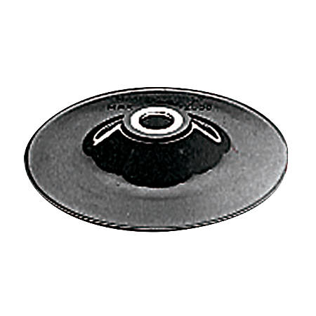 Rubber Backing Pads, 4 1/2 in