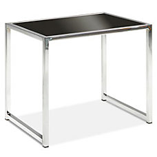 Ave Six Yield End Table ChromeBlack