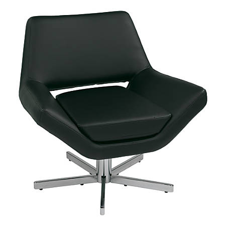 "Avenue Six Yield Collection 30"" Swivel Chair, 30""H x 31""W x 28""D, Black"