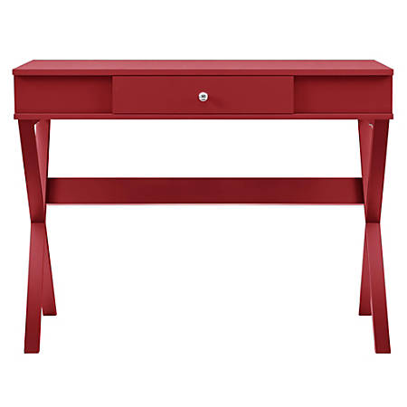 Ameriwood™ Home Paxton Campaign Desk, Red