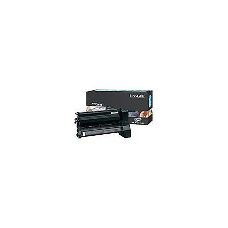 Lexmark - High Yield - black - original - toner cartridge LRP, government GSA - for Lexmark C770dn, C770dtn, C770n, C772, C772dn, C772dtn, C772n