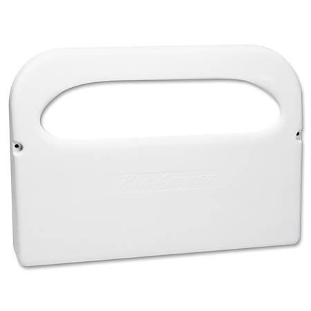 RMC Toilet Seat Cover Dispenser - Half-fold - Plastic - White - Corrosion Resistant