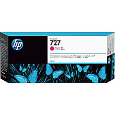 HP 727 High Yield Magenta Ink