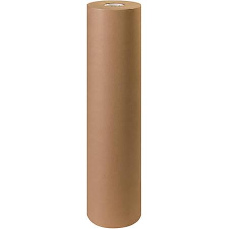 """Office Depot® Brand Unbleached Butcher Paper Roll, 36"""", Kraft"""