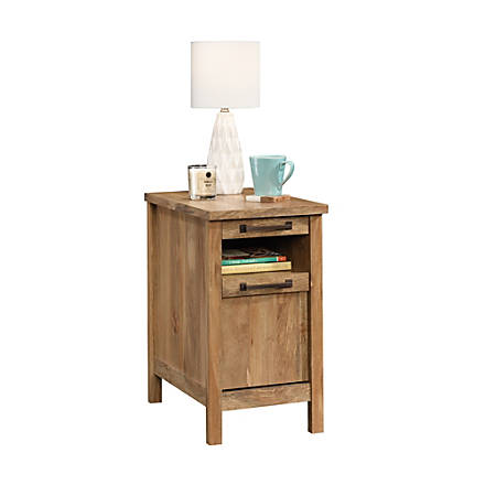 "Sauder® Cannery Bridge Side Table, 25-3/4""H x 14-3/8""W x 22-1/2""D, Sindoori Mango"