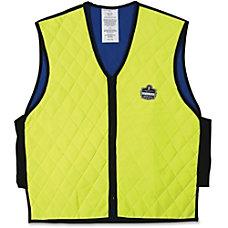 6665 L Lime Evaporative Cooling Vest