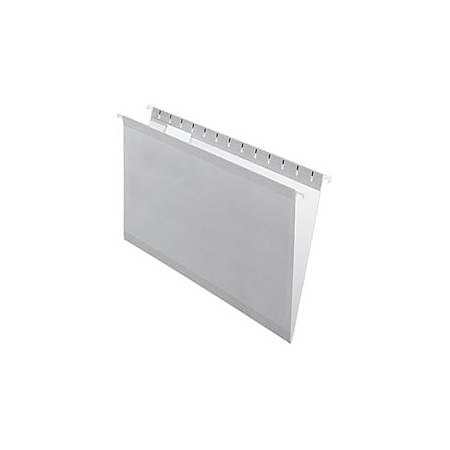 Pendaflex® Premium Reinforced Color Hanging Folders, Legal Size, Gray, Pack Of 25