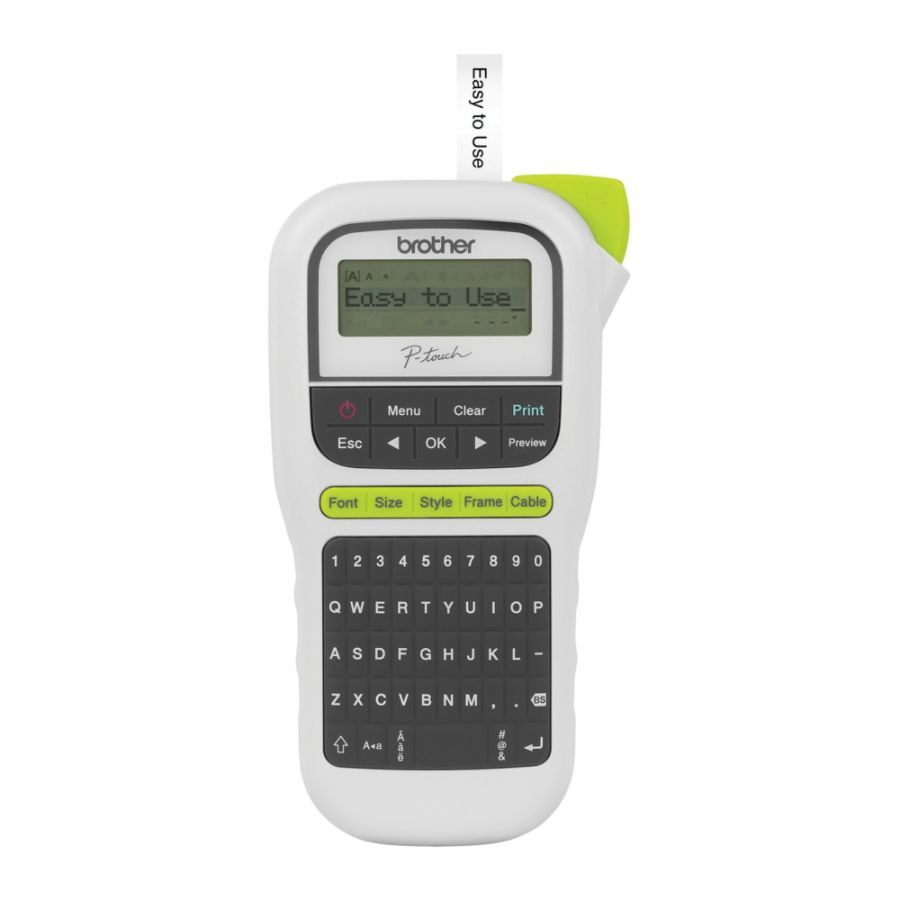 brother p touch label maker pth110 by office depot & officemax