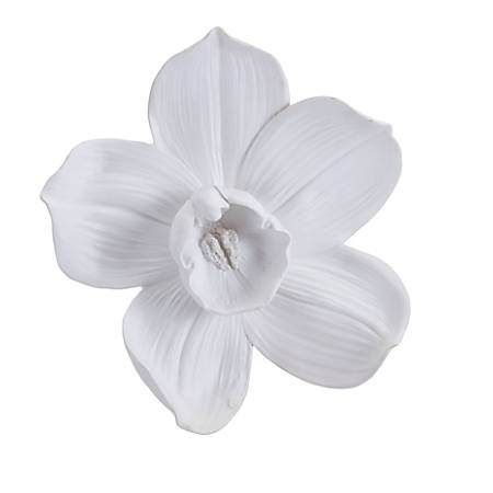 Zuo Modern Orchid Wall Décor, Medium, White