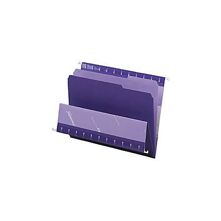 Pendaflex Color Interior File Folders 13 Cut Letter Size Violet Pack Of 100 By Office Depot