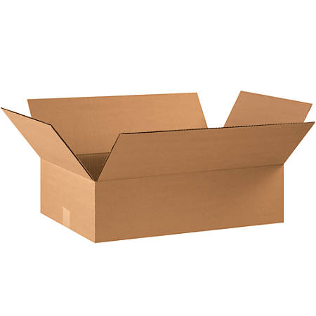 """Office Depot® Brand Corrugated Boxes, 6""""H x 12""""W x 22""""D, Kraft, Pack Of 25"""