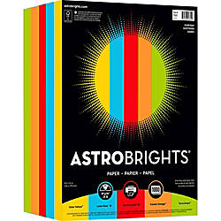 Astrobrights Color Paper Everyday 5 Color