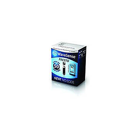 Presto® Test Strips, Box Of 50