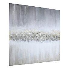 Lorell Raining Sky Design Abstract Canvas