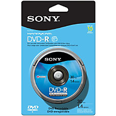 Sony DVD R Media