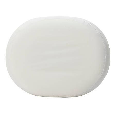 "DMI® Molded Foam Ring Donut Seat Cushion, Contoured, 3""H x 13""W x 16""D, White"