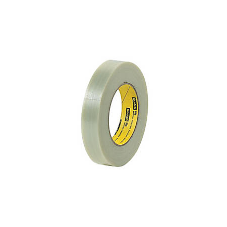 "3M® 898 Strapping Tape, 2"" x 60 Yd., Clear, Case Of 24"