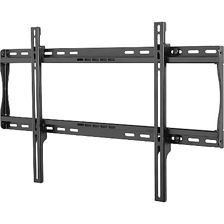 "Peerless SmartMount® Universal Flat Wall Mount for 39"" to 75"" Displays - Steel - 175 lb - Black"