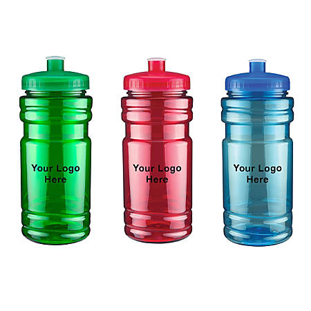 Surf Water Bottle, 20 Oz, Assorted Colors