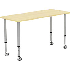 Lorell Height adjustable 60 Rectangular Table