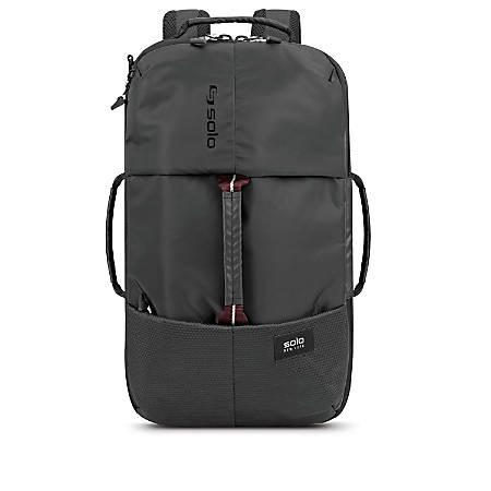 Solo All-Star Hybrid Laptop Backpack, Black