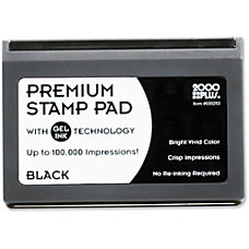 Microgel Stamp Pad for 2000 PLUS