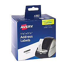 Avery Thermal Address Labels 4183 1