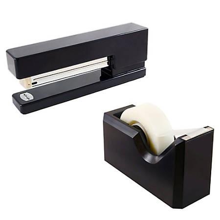 JAM Paper® 2-Piece Office And Desk Set, Black