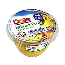Dole Mixed Fruit In 100percent Fruit