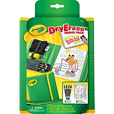 Crayola Dry Erase Travel Pack