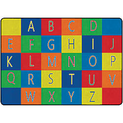Flagship Carpets Alphabet Seating Rug 6