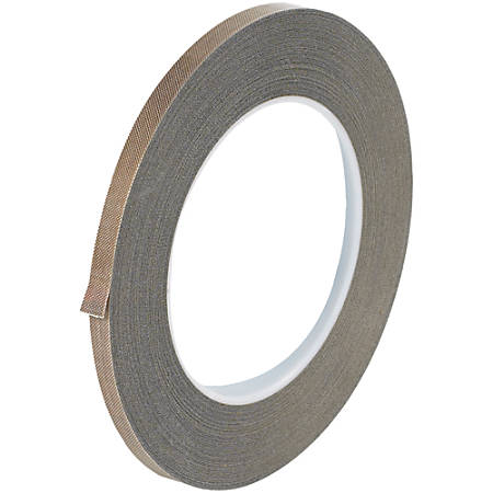 """Office Depot® Brand PTFE Glass Cloth Tape, 3 Mils, 3"""" Core, 0.25"""" x 54', Brown"""