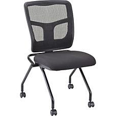 Lorell Chair Fabric Seat Mesh Back