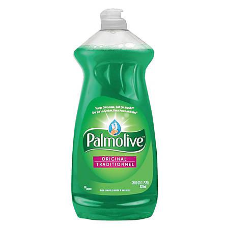 Palmolive® Dishwashing Liquid/Hand Soap, Original Scent, 28 Oz Bottle, Pack Of 9 Bottles