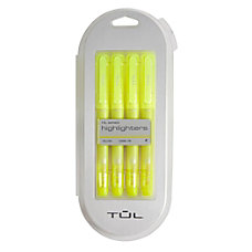 TUL Highlighter Chisel Tip Fluorescent Yellow