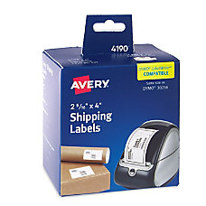 Avery Thermal Shipping Labels 4190 2