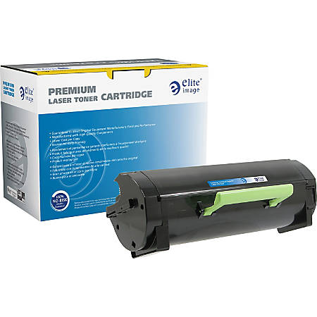 Elite Image Remanufactured MICR Toner Cartridge - Alternative for Lexmark (50F1U00) - Black - Laser - Ultra High Yield - 20000 Pages - 1 Each
